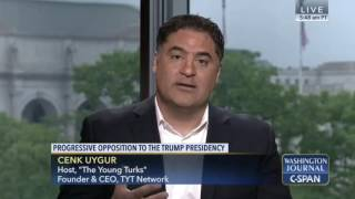 Cenk Uygur on CSPAN 4/30/17