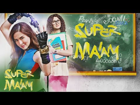 Super Ma'am: Teacher by day, Tamawo slayer by night