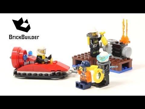 Vidéo LEGO City 60106 : Ensemble de démarrage pompiers