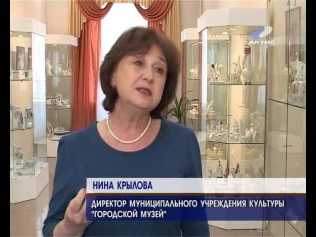 Выставка фарфора открылась в музее часов