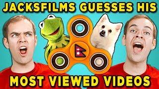 Can Jacksfilms Guess Jacksfilms Top 10 Most Viewed YouTube Videos?
