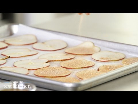 Baked Pear Chips – From The Test Kitchen