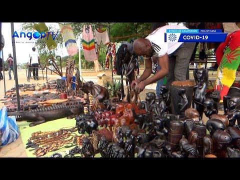 Cazenga realiza feira de artes e ofícios