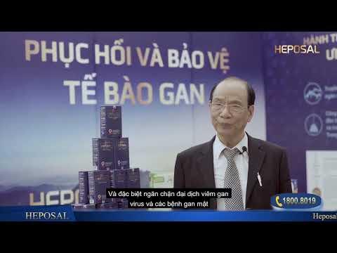 Phỏng vấn TS Đinh Quý Lan về sản phẩm Heposal và Dược liệu Ưng Bất Bạc