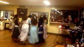 Ethiopian New Year 2006 Tigrigna Traditional Music + Dance In Brisbane (ashenda) - Part 1
