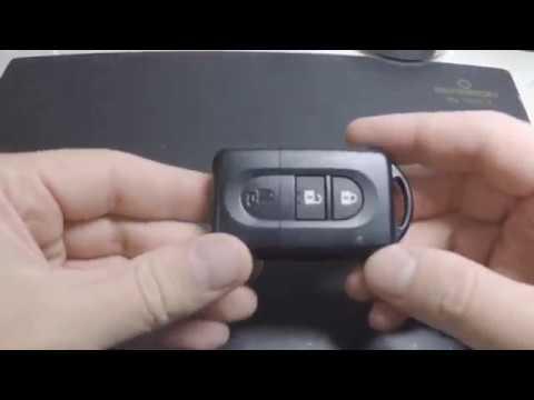 Как заменить батарейку в ключе Nissan Pathfinder 2020 года