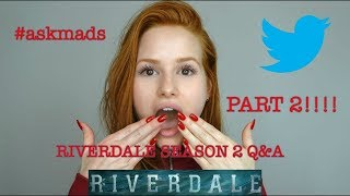Download Youtube: Part 2 of Riverdale Season 2 Q&A   Madelaine Petsch