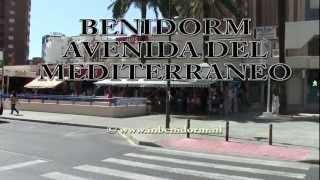 preview picture of video 'Benidorm Avenida del Mediterraneo'