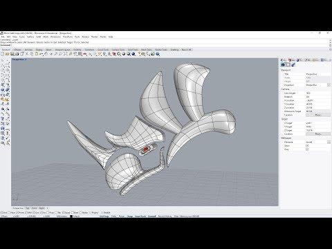 Rhino 6 Subdivision modelling - simple cup pencarian Terbaru