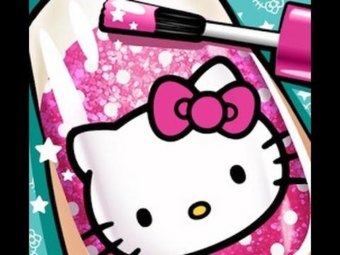 Salón de uñas Hello Kitty HD   Videos y juegos para niños y niñas de Hello Kitty
