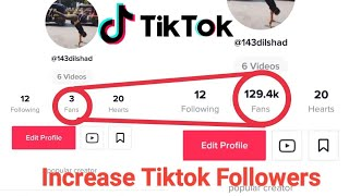 How to increase tiktok fans and likes free 2019 - tiktok free fans