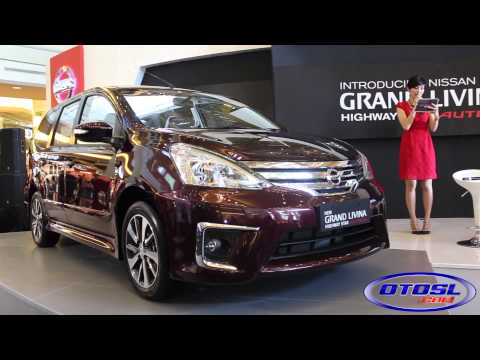 Launching Nissan New Grand Livina Highway Star Autech