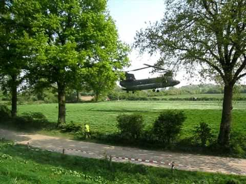 Chinook medical evacuation exercise at Boxmeer