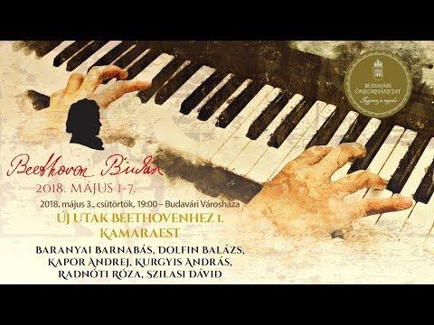 Beethoven Budán 2018 - Új utak Beethovenhez 1. - video preview image