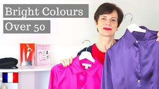 🇫🇷 FRENCH CHIC OVER 50 ⎢HOW TO WEAR BRIGHT COLOURS FOR WOMEN OVER 50