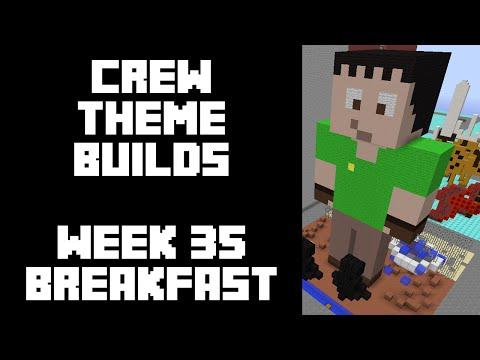 Minecraft - Your Theme Builds - Week 35 - Breakfast