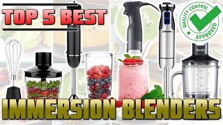 Best Immersion Blender Review | Top 5 Hand Blenders On The Market