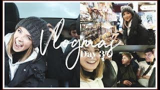 WE LOST OUR MINDS ON THE EURO TUNNEL   VLOGMAS