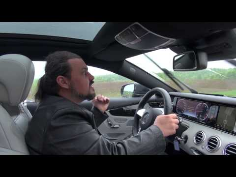 Mercedes Benz  S Class Coupe Купе класса A - тест-драйв 2