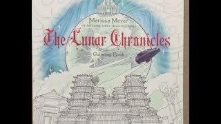 The Lunar Chronicles flip through