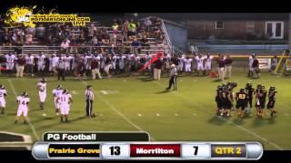 Prairie Grove (21) vs Morrilton (28) 2013
