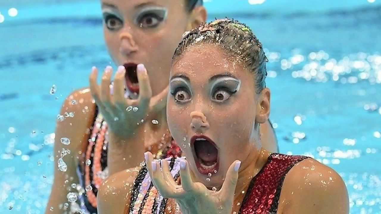 Synchronized Swimming Is Terrifying thumbnail