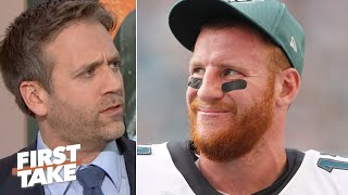 Everyone is giving Carson Wentz a pass! – Max Kellerman | First Take