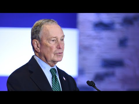 Mike Bloomberg Speaks at Christian Cultural Center