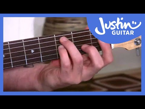 One minute Changes (Guitar Lesson BC-162) Guitar for beginners Stage 6