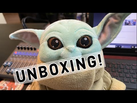 Download THE CHILD UNBOXING! Unboxing the shopDisney Baby Yoday Plush Mp4 HD Video and MP3