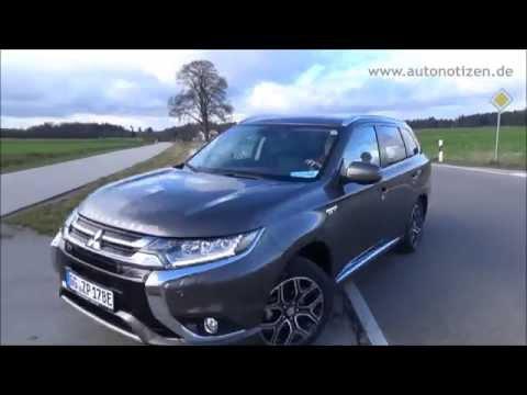 Mitsubishi Plug-In Hybrid Outlander im Autonotizen.de Test