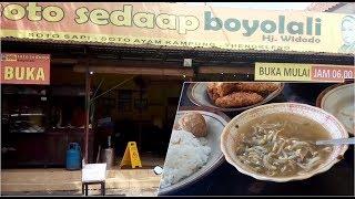 Maknyus! Nikmatnya Soto Khas Boyolali di Kedai Soto Hj Widodo Bandung