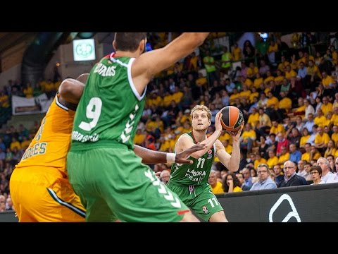 Highlights: RS Round 3, Limoges CSP 71-107 Laboral Kutxa Vitoria Gasteiz