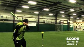 DeMarini Bat Control Competition: Crystl Bustos vs. Chris Larsen