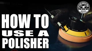 How To Use A Polisher - Car Detailing Basics - Chemical Guys - TORQX Dual Action Polisher - Video Youtube