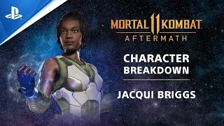 Mortal Kombat 11: Aftermath - Jacqui Briggs Beginner's Guide All Variations | PS Competition Center