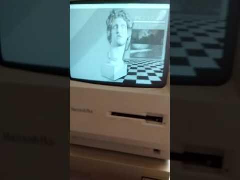 MACINTOSH PLUS On A Real Macintosh Plus