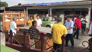 MCA sends help to families in Mantin affected by storm