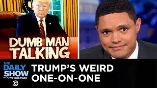 Trump's Weird One-on-One with George Stephanopoulos   The Daily Show