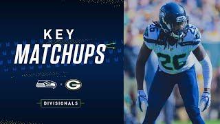 2019 Divisional: Seahawks at Packers Key Matchups