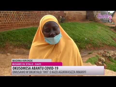 Abasawo by'okubyalo n'engeri gy'ebalwanyisamu COVID-19