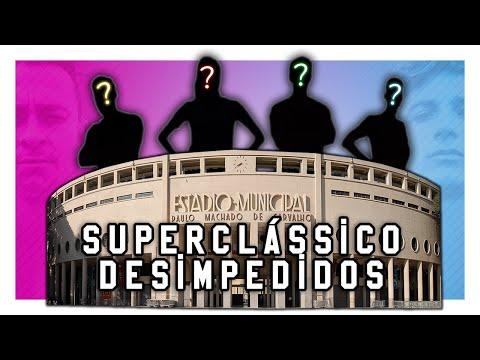 Agora os times do SUPERCLÁSSICO DESIMPEDIDOS estão completos!