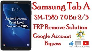 bypass frp google account samsung galaxy tab a6 sm t585 - Thủ thuật