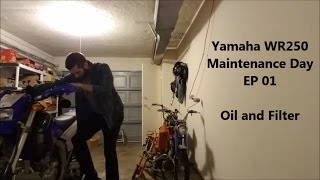 WR250 Maintenance Day | EP 01 - Oil And Filter