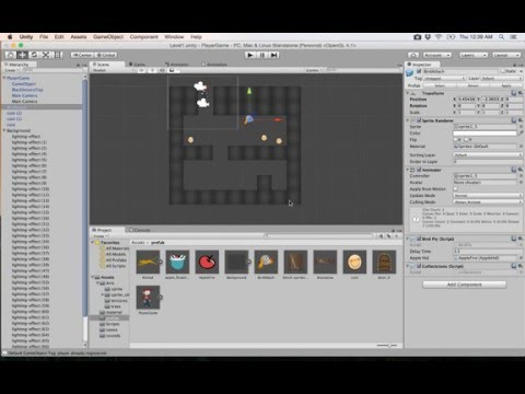 23- Unity 2D|| Build level بناء مرحلة