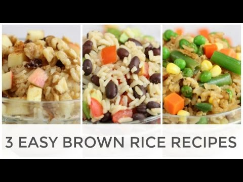 Easy Brown Rice Recipes | Breakfast, Lunch + Dinner
