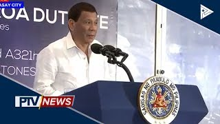 PRRD graces the roll-out of PAL's new Airbus A350, A321 Neo aircrafts
