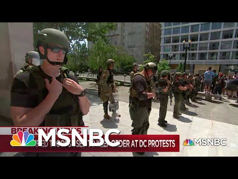 Some of Trump's Unmarked Police Force Traced to Texas Prison | Maddow | MSNBC