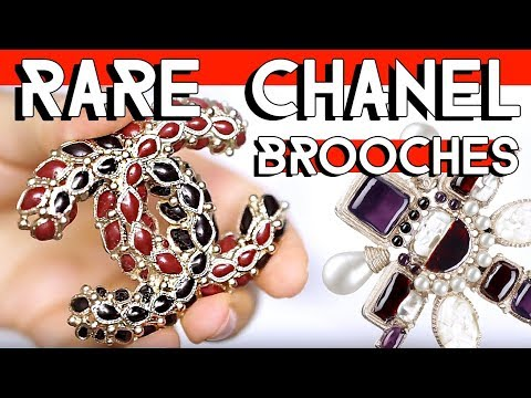 RARE CHANEL BROOCH COLLECTION