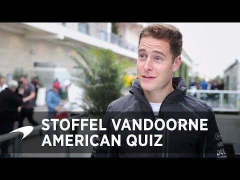 The Big American Quiz | Stoffel Vandoorne
